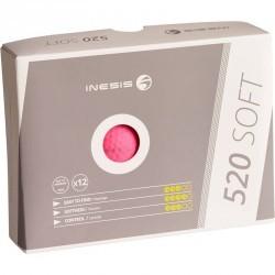 BALLES 520 SOFT MAT X12 ROSE