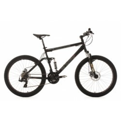VTT tout suspendu KS Cycling Insomnia 26´´ Shimano Tourney 7V Noir