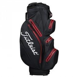 Sac de golf chariot imperméable STADRY noir rouge