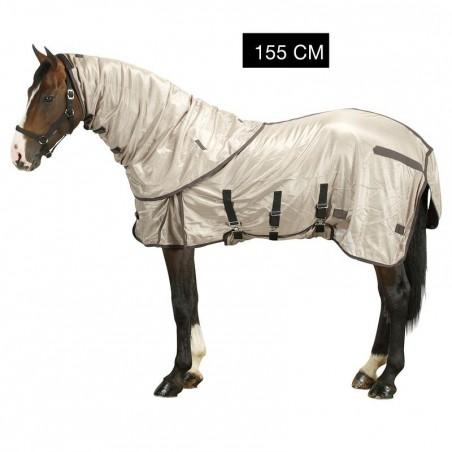 Chemise antimouche équitation poney et cheval beige