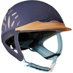 Casque équitation SAFETY JUMP bleu