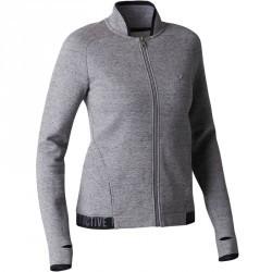 Veste 900 Gym Stretching femme gris