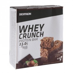 WHEY CRUNCH PROTEIN BAR chocolat-noisettes pack