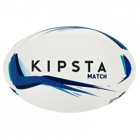 Ballon rugby R500 taille 5 bleu