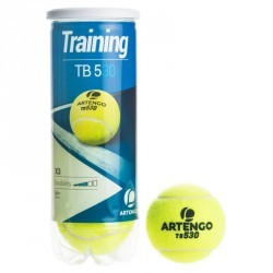 BALLES DE TENNIS PRESSION TB 530 *3 JAUNE