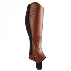 Mini-chaps équitation adulte 500 marron