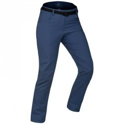 Pantalon de randonnée neige femme SH500 x-warm bleu