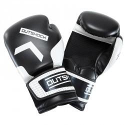 Boxing Gloves 300 Noirs, gants d'entraînement débutant homme femme
