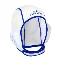 Bonnet water polo junior easyplay blanc