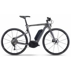 Vélo de Ville Électrique Haibike  Xduro Urban 4.0 Shimano Deore XT 11V Gris 2019