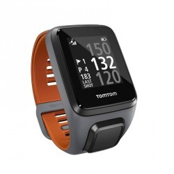 MONTRE GPS GOLFER 2 EDITION SPECIALE GRIS ET ORANGE