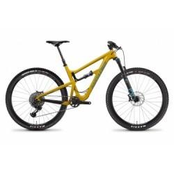 Vélo Tout-Suspendu Santa Cruz Hightower S Carbon C 29´´ Sram GX Eagle 12V Mustard 2019