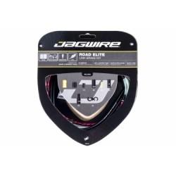 Kit Câble et Gaine Route Jagwire Road Elite Link pour Freins Rouge