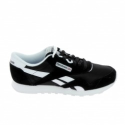 Basket mode, SneakerBasket -mode - Sneakers REEBOK Classic Nylon Noir Blanc