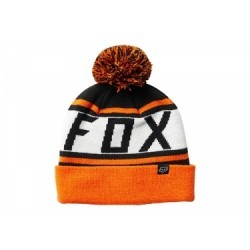 Bonnet Fox Throwback Noir / Orange