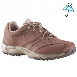 Chaussures marche sportive femme Nakuru Novadry marron / beige