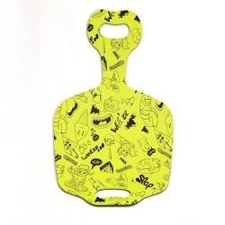 Luge enfant pelle à neige Funny Slide  jaune