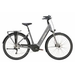 Vélo de Ville Électrique Trek TM4+ Lowstep Shimano Deore 10V Gris 2019