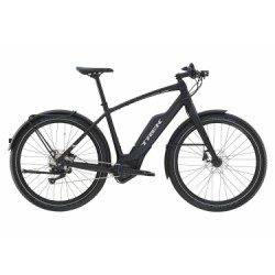 Vélo de Ville Électrique Trek Super Commuter+ 7 Shimano Deore M6000 10V Noir 2019