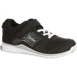 Chaussures marche sportive enfant Actireo noir / blanc