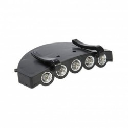 Lampe de visière pour casquette de vélo