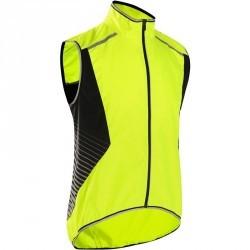 Gilet vélo homme 500 jaune fluo