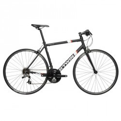VELO ROUTE TRIBAN 500 FB Noir blanc orange