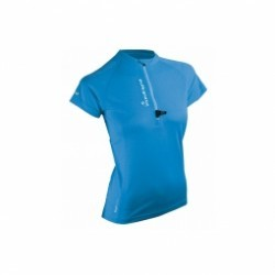 Maillot Manches Courtes Raidlight Activerun Lady Blue
