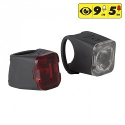 KIT ECLAIRAGE VELO LED VIOO 500 ROAD AVANT et ARRIERE