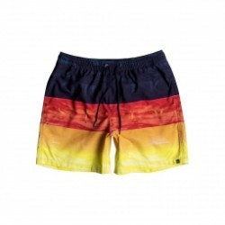 Short de bain Quiksilver Word Waves Volley 17
