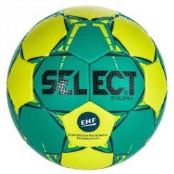 Ballon de handball Select SOLERA de couleur vert et noir taille 3