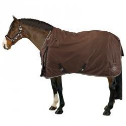 Couverture d'extérieur équitation ALLWEATHER 300 CROWN marron - poney et cheval