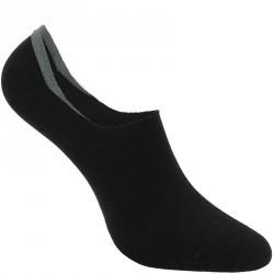 Chaussettes marche sportive Invisible 500 noir