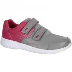 Chaussures marche sportive enfant Actiwalk 100 gris / rose