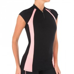 Top aquabike femme aquatop noir orange