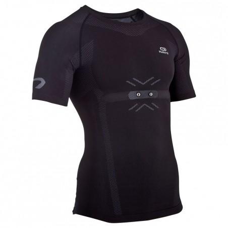 Tee shirt Running homme Kiprun Cardio noir