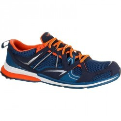 Chaussures marche sportive homme Propulse Walk 400 bleu / orange
