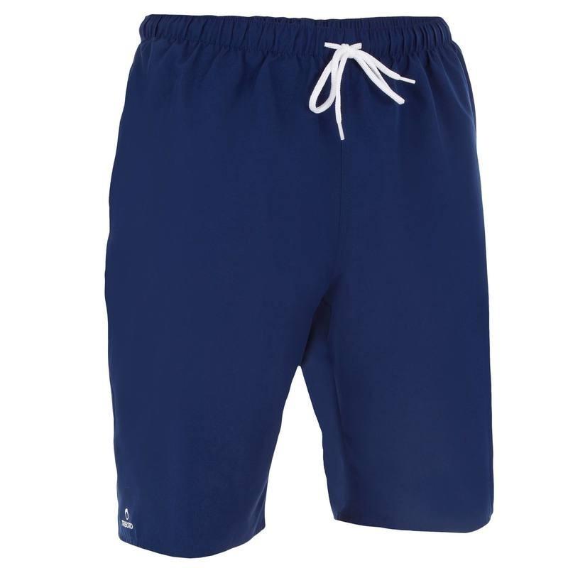 Boardshort long Hendaia bleu foncé