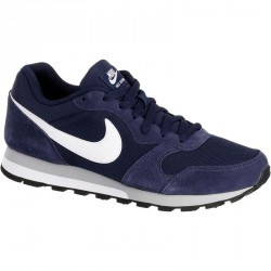 Chaussures marche sportive homme MD Runner bleu / blanc