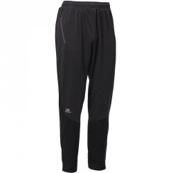 PANTALON RUNNING HOMME  RUN WARM+ GRIS NOIR
