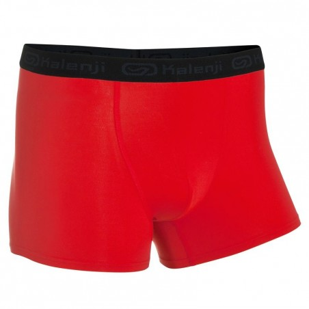 Boxer Running homme respirant rouge