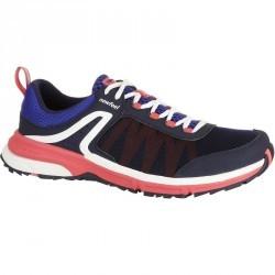 Chaussures marche nordique femme Propulse Walk 300 marine / rose