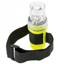 Lampe flashlight de repérage bateau jaune