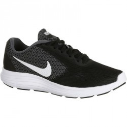 Chaussures marche sportive femme Revolution noir / blanc