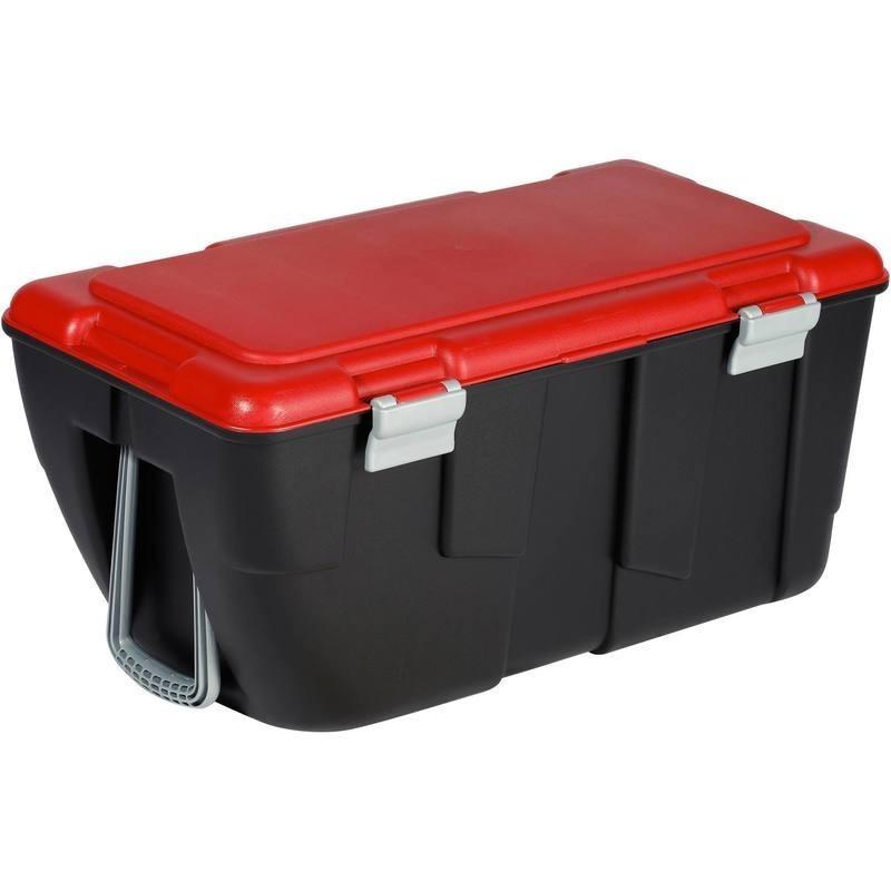 Malle de transport de plongée Discover 80L noir/rouge