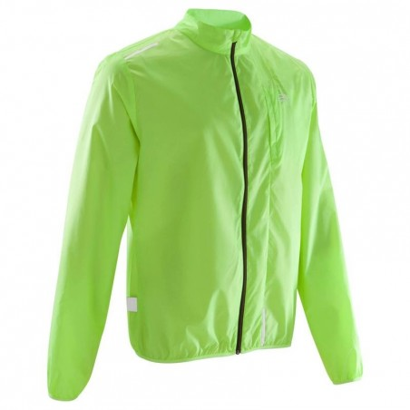 VESTE RUNNING HOMME RUN WIND JAUNE