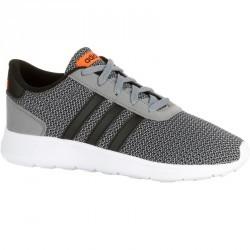 Chaussures marche sportive enfant Lite Racer gris / noir