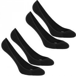 Chaussettes marche sportive Ballerina femme noir (lot de 2 paires)