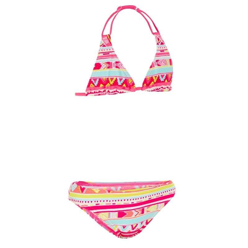 Maillot de bain 2 pièces fille triangle GEO ROSE