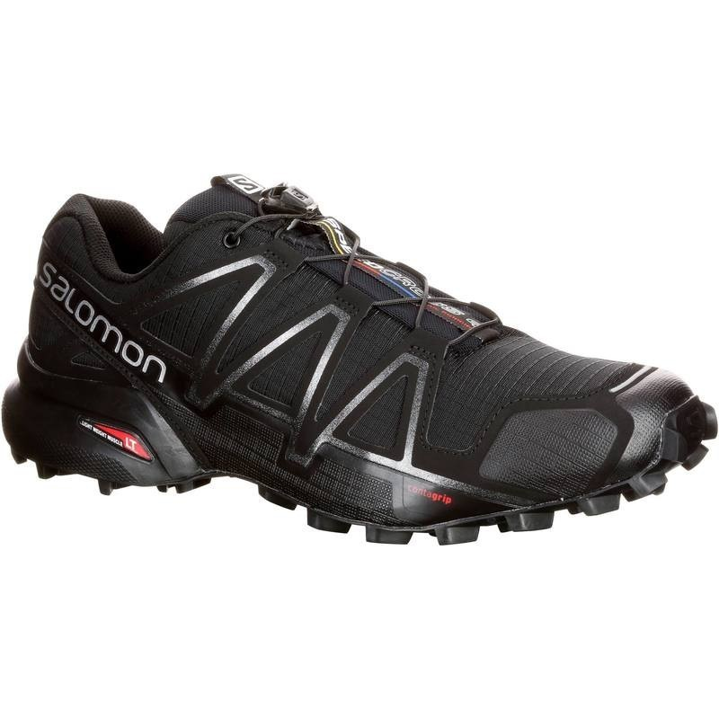 the latest 91a33 6d26c Chaussure Trail Running Homme SALOMON SPEEDCROSS 4 noir